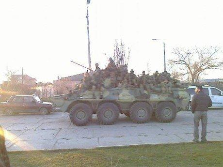 На Феодосією в Криму окупанти випустили перші реактивні снаряди
