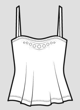 Жіночі блузи і топи: як називають, звідки походять