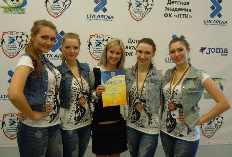 Полтавські студентки посіли 3 місце на ювілейному Чемпіонаті України з черліденгу