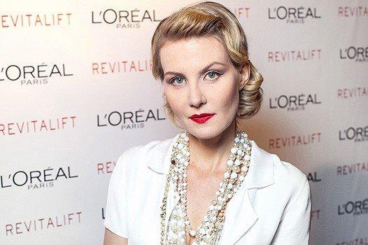 Литвинова знімає фільм для відомого бренду косметики