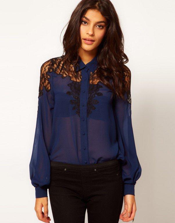 Цього літа варто звернути увагу на блузи з шифону. фото walkwin.ru 07b423f4540e4