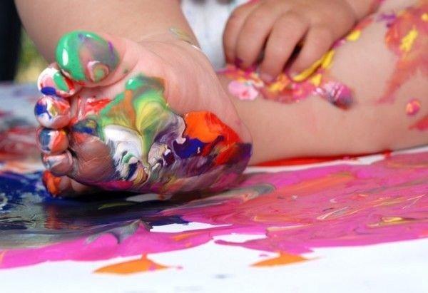 Як зробити пальчикові фарби своїми руками?