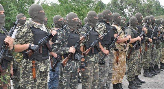 Спецпризначенці батальйону Полтава відправились у зону АТО