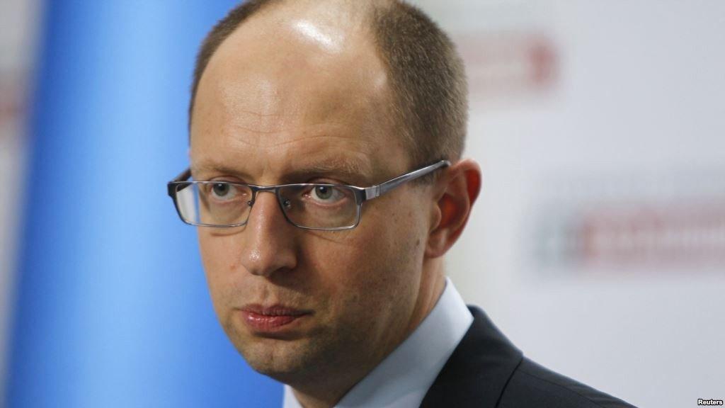 Глава Кабміну України Яценюк подав у відставку