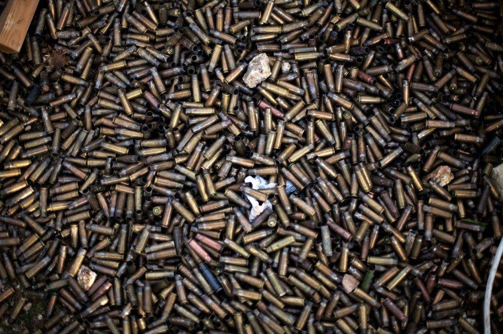 Полтавець придумав збирати відстріляні в АТО гільзи для пам'ятника