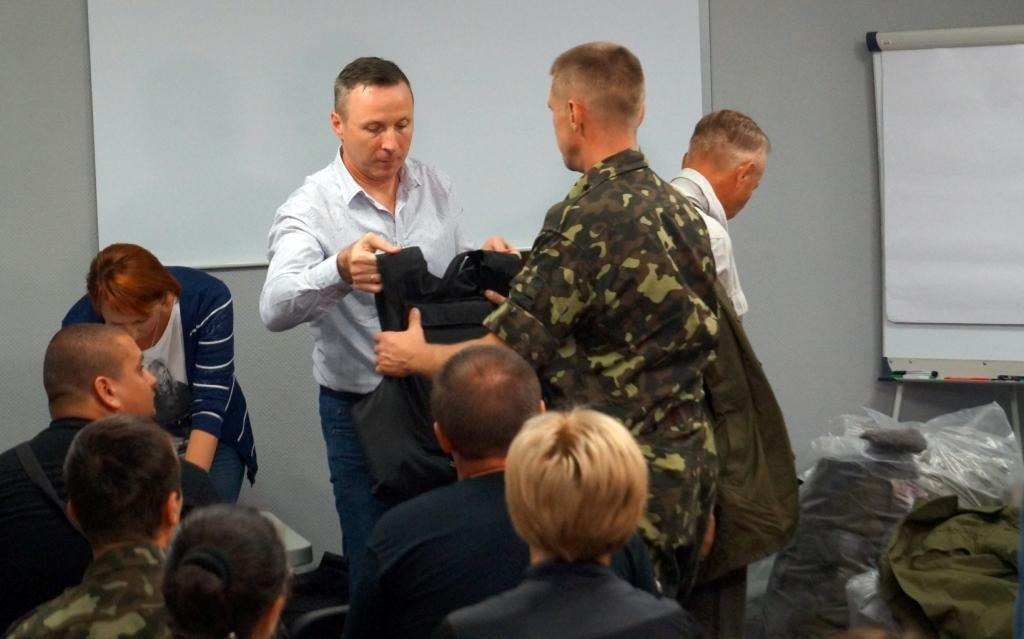Лише за два тижні Фонд Андрія Матковського забезпечив бронежилетами понад 80 призовників-полтавців