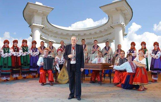Учасники хору «Калина» зібрали 10 тисяч гривень для допомоги правоохоронцям, які перебувають на Сході