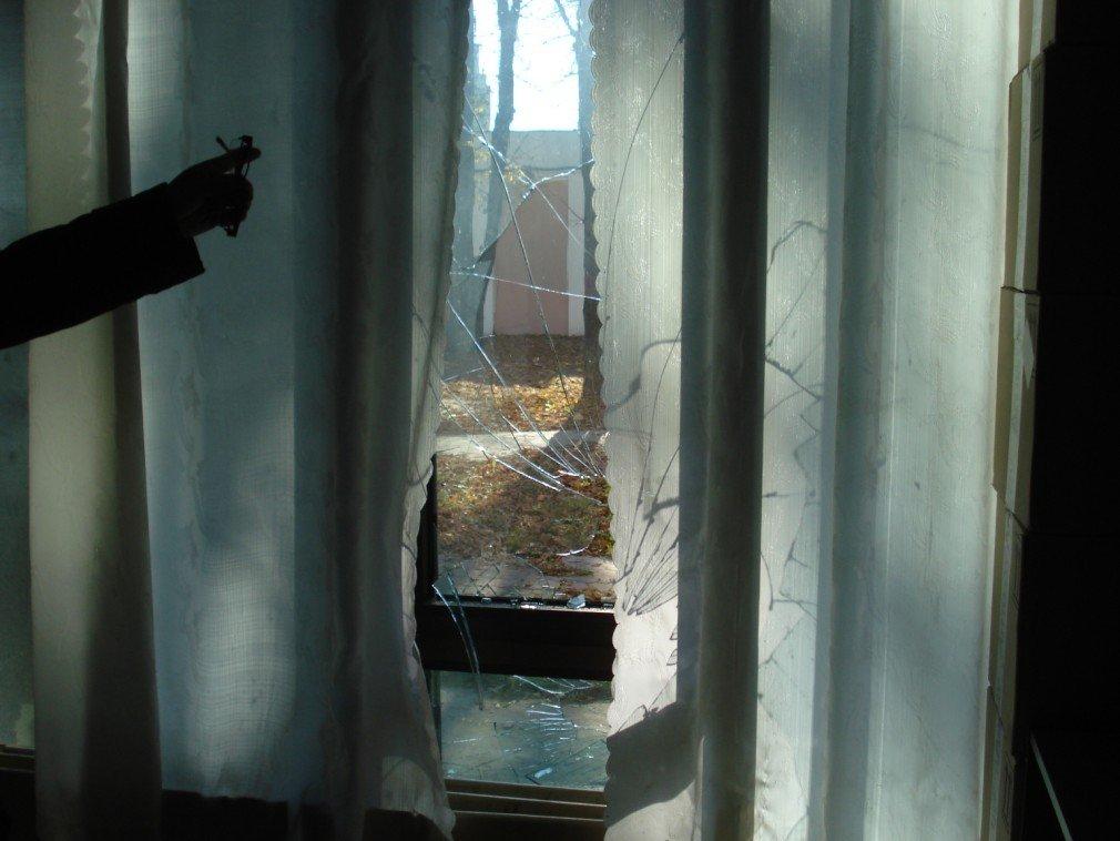 У штабі кандидата в народні депутати Ірини Балибіної розбили вікна