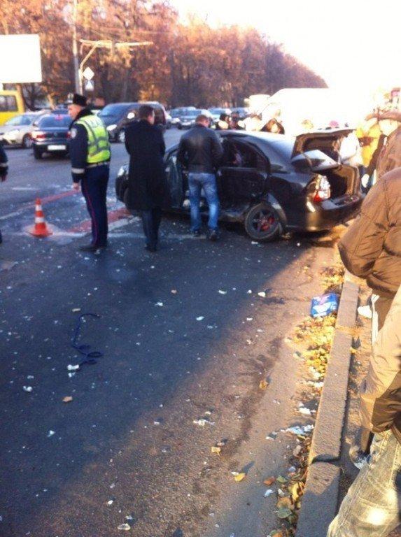 ДТП біля ТЦ «Конкорд»: постраждалу госпіталізували в пологовий будинок