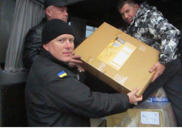 Бійців з Полтавщини в зоні АТО відвідали земляки