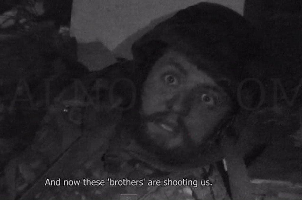 З'явилося відео обстрілу