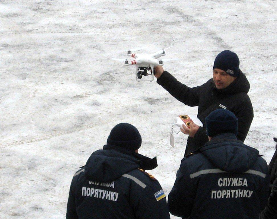 Рятувальників Полтавщини закупили два безпілотники (відео)
