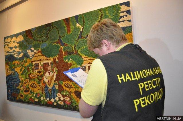 У Кременчуці встановили рекорд України – створили пластилінове панно