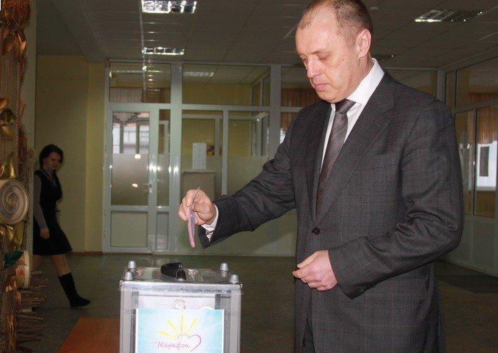 Мер Полтави розщедрився на 5 тисяч гривень для АТО