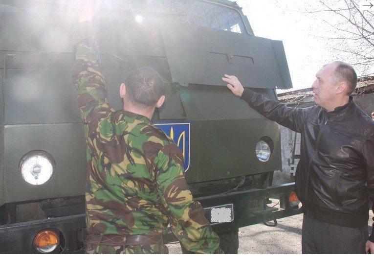 Мер Полтави оплатив ремонт авто для АТО