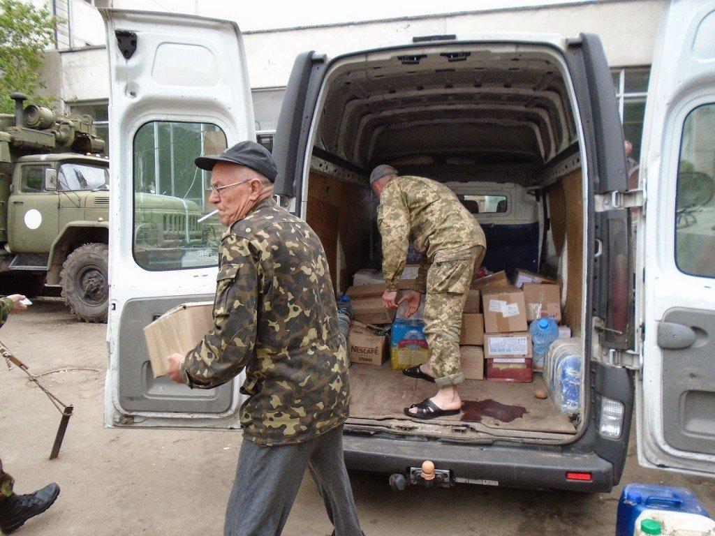 Полтавських волонтерів обстріляли у зоні АТО