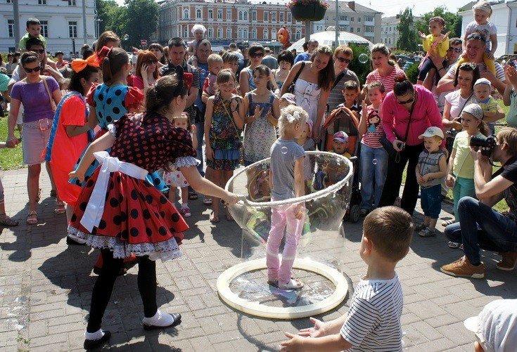 У Полтаві влаштували свято у День захисту дітей