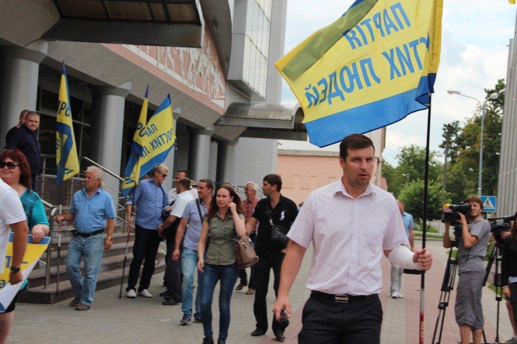 Олександр Шамота: ми не дозволимо міліції зам'яти справу з наїздом мера на простих полтавців