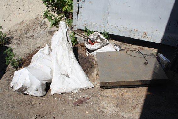 На Полтавщині викрили підпільний металоприймальний пункт