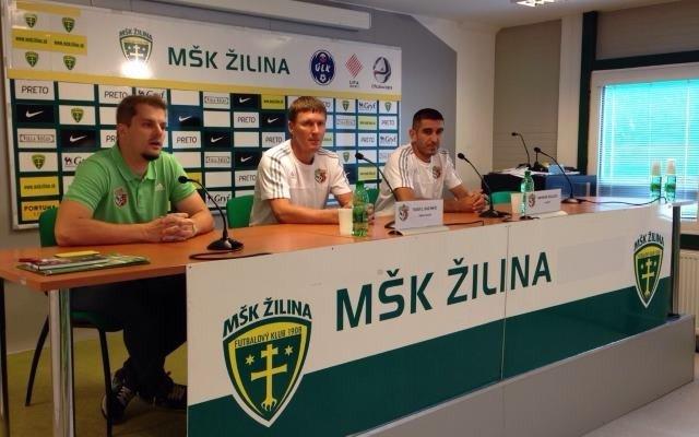Тренер і капітан «Ворксли» дали прес-сконференцію перед грою з «Жиліною»