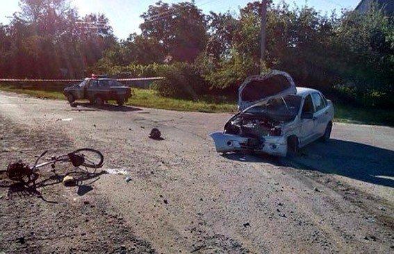 У Шишаках п'яний водій на смерть збив пішохода