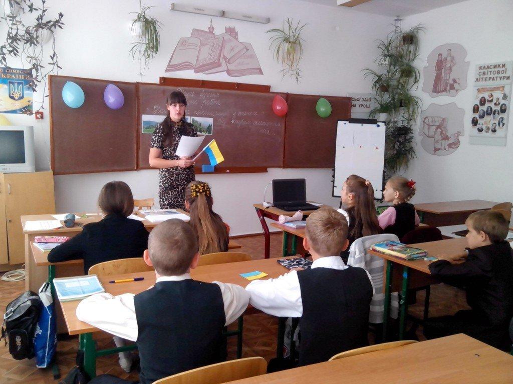 На першому уроці школярі говоритимуть про Революцію Гідності