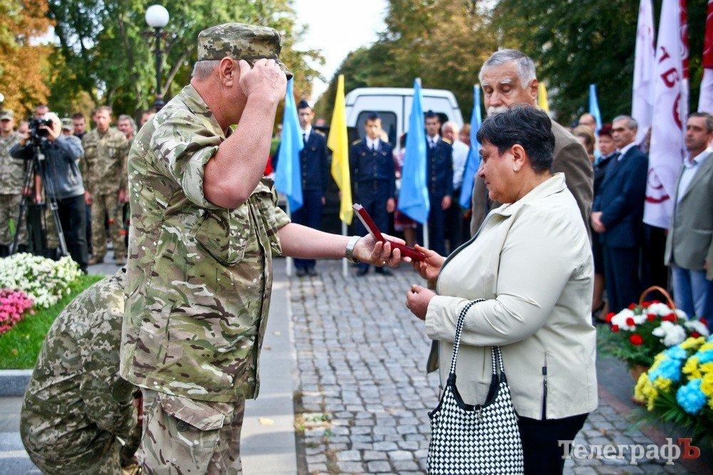 Кременчуцького героя нагородили оредом посмертно