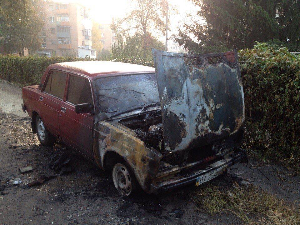 Журналісту ГромадськогоТБ у Полтаві спалили автомобіль