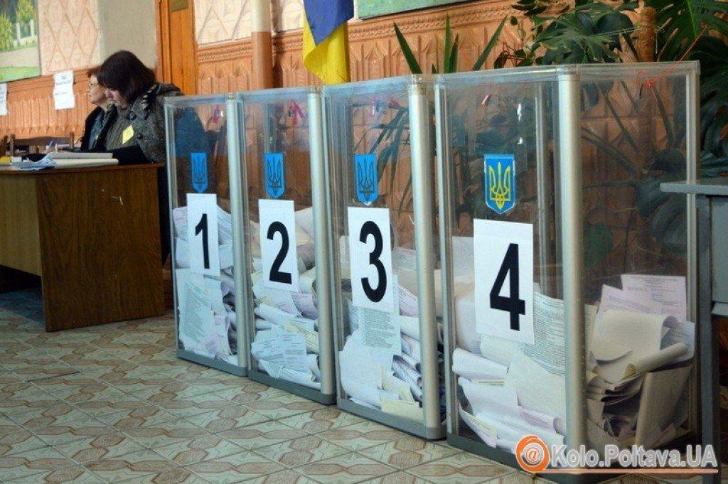 Кількість проголосувавших у Полтаві (оновлюється)