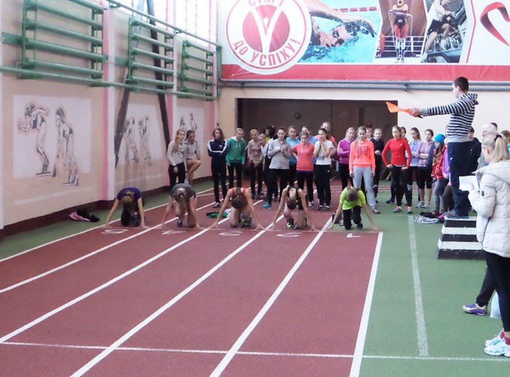 У Полтаві 300 дітей змагалися за призи відомого легкоатлета