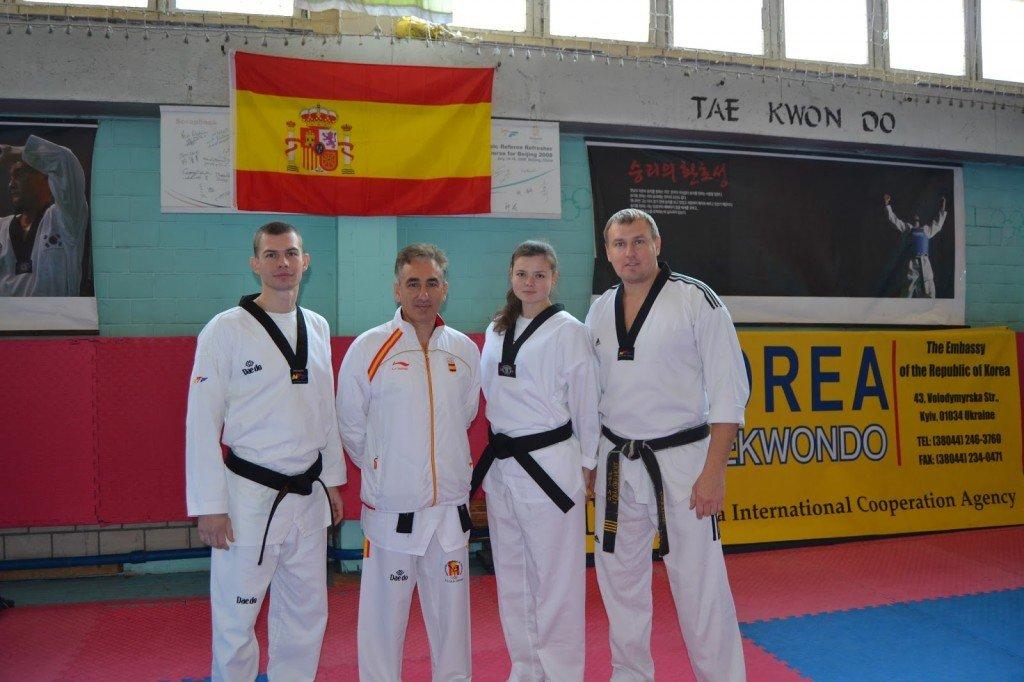 Полтавці навчалися тхеквондо у тренера збірної Іспанії