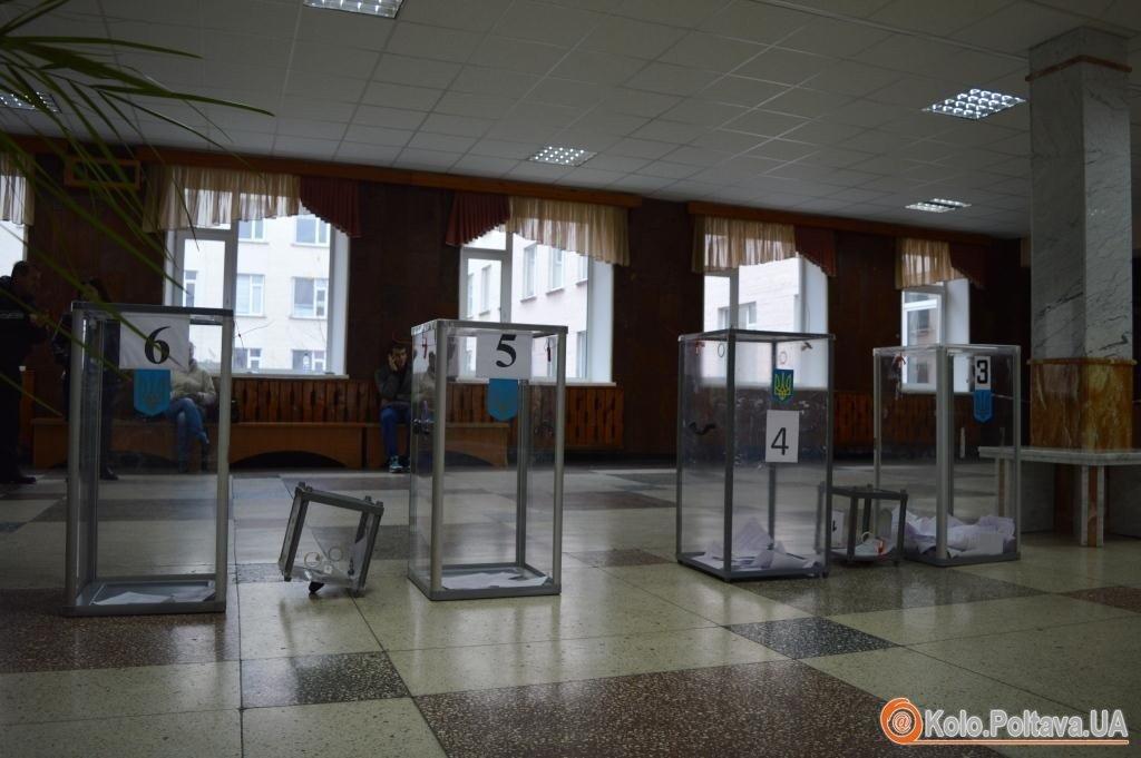 Вибори на Полтавщині: відкрито 14 кримінальних проваджень
