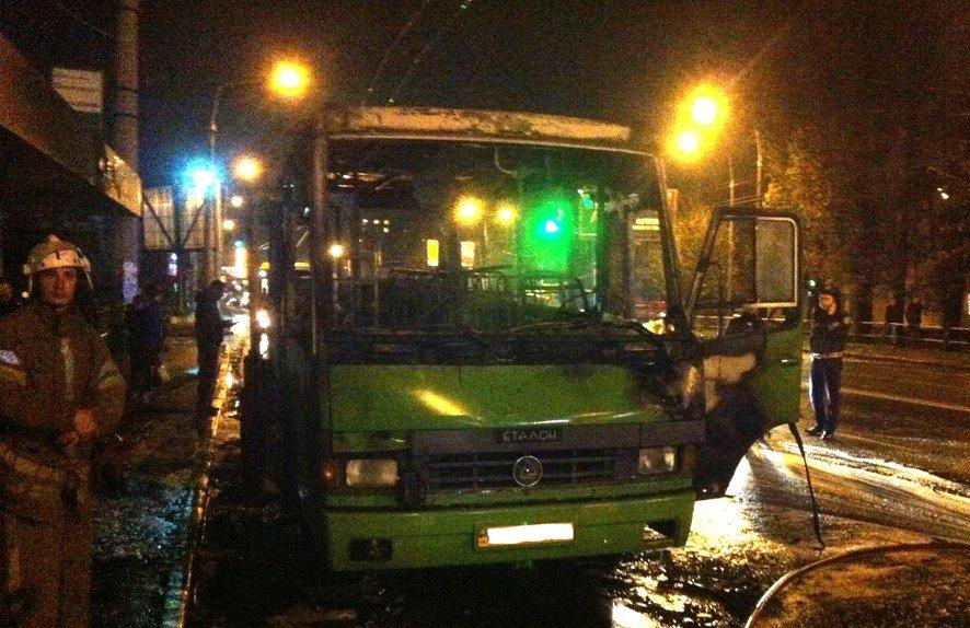Полтавська поліції щодо згорілого автобуса: Версію про помсту перевізників також розглядаємо