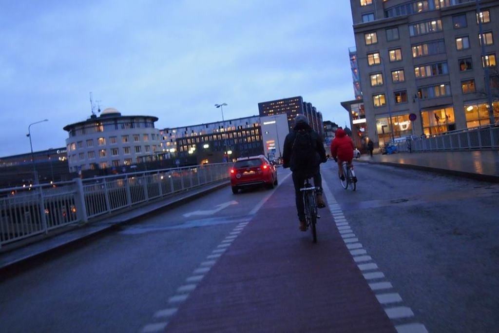 Полтавська велоактивістка у Швеції вивчала розвиток міст, культури та сучасного мистецтва