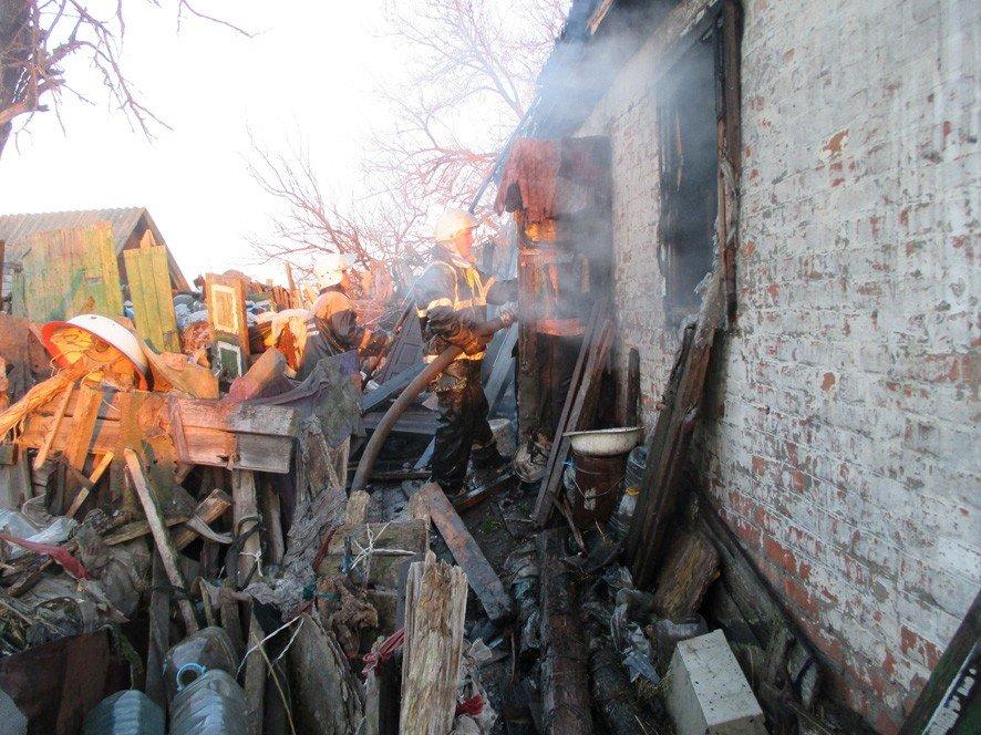 На Полтавщині під час пожежі загинула жінка