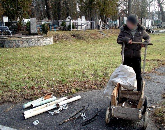 На Полтавщині жінка на крадіжках з цвинатря заробляла собі на життя