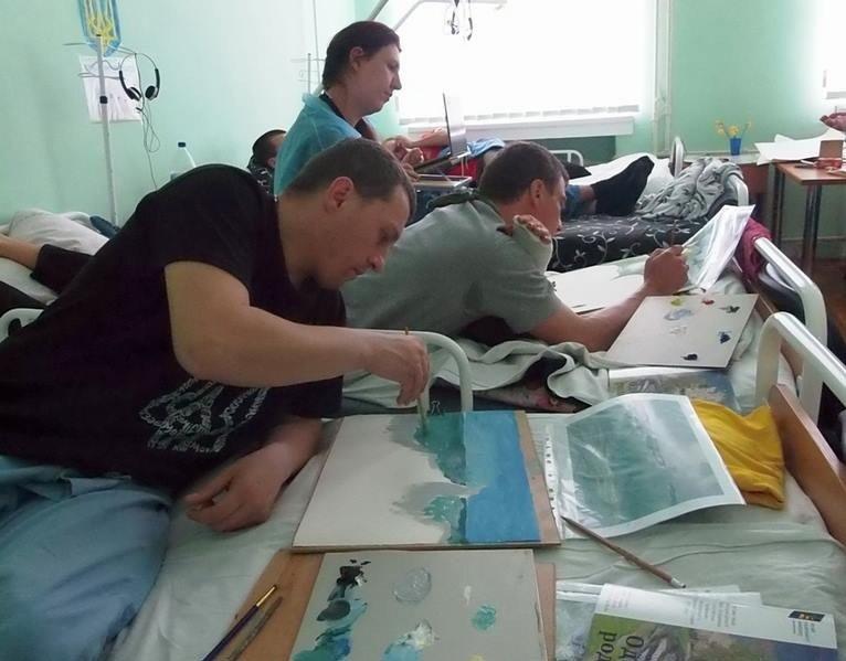 Для психологічної допомоги воїнам АТО обіцяють залучити арт-терапію