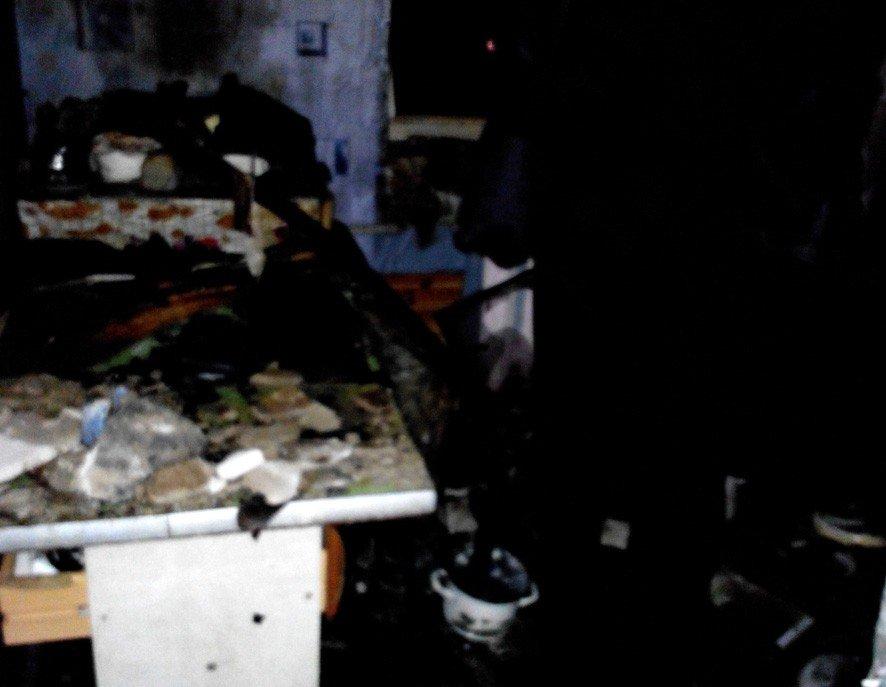 На Полтавщині з пожежі врятували двох дітей