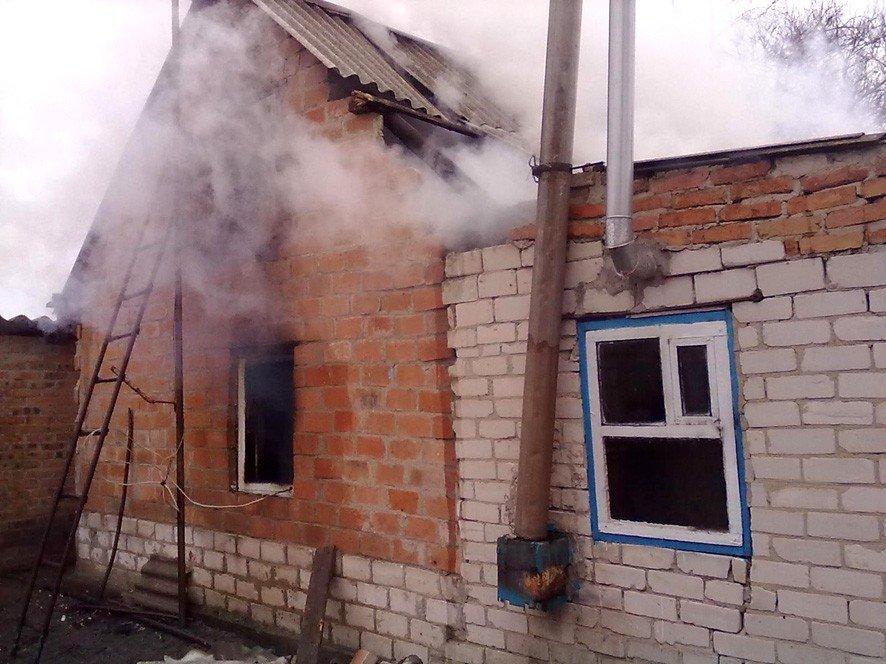 На Полтавщині в палаючому будинку знайшли тіло жінки