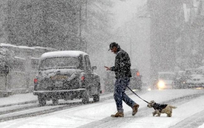 Негода на Полтавщині: на вихідних сипатиме сніг