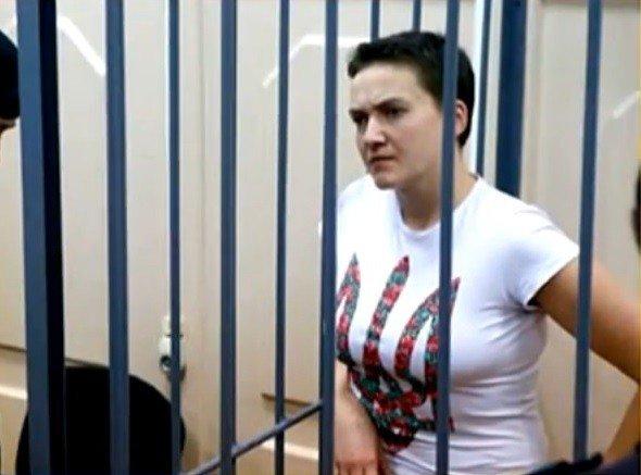 У Росії українку Надію Савченко засудили до 22 років