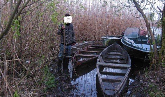 На Кременчуцькому водосховищі затримали браконьєра
