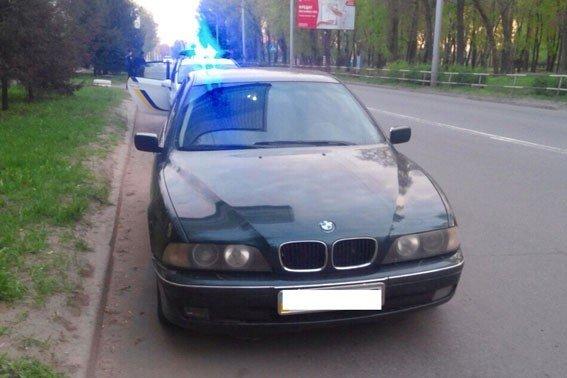 У Полтаві двічі зупиняли п'яного водія BMW