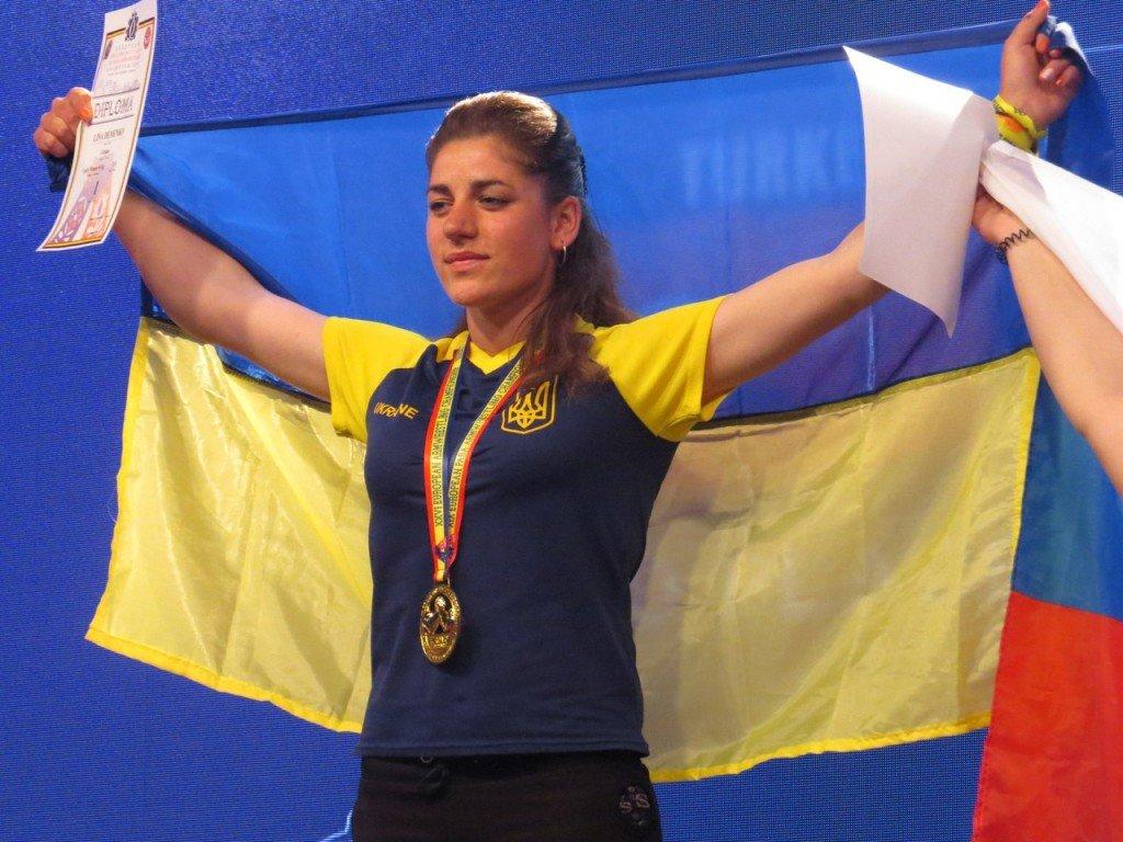 Армспортсменка з Полтавщини стала чемпіонкою Європи