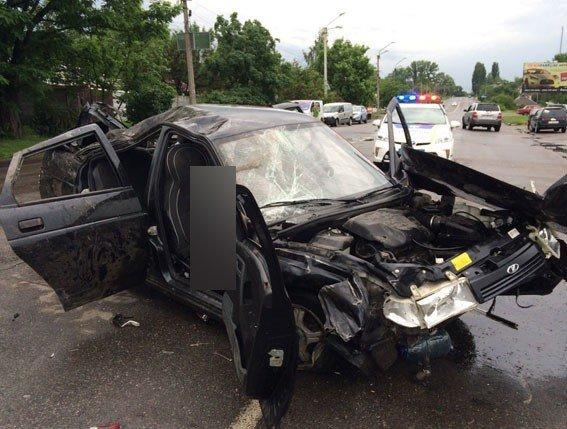 ДТП у Кременчуці: четверо постраждалих, одна людина загинула ( відео)