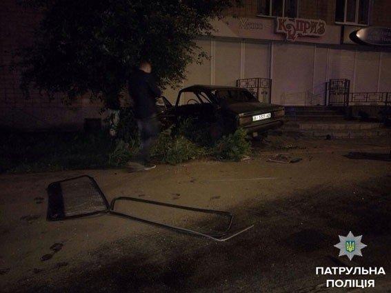 У Полтаві на вулиці Калініна розбились 4 автівки