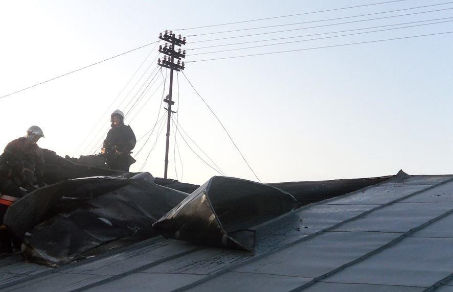 У Полтаві горів кадетський корпус (фото)