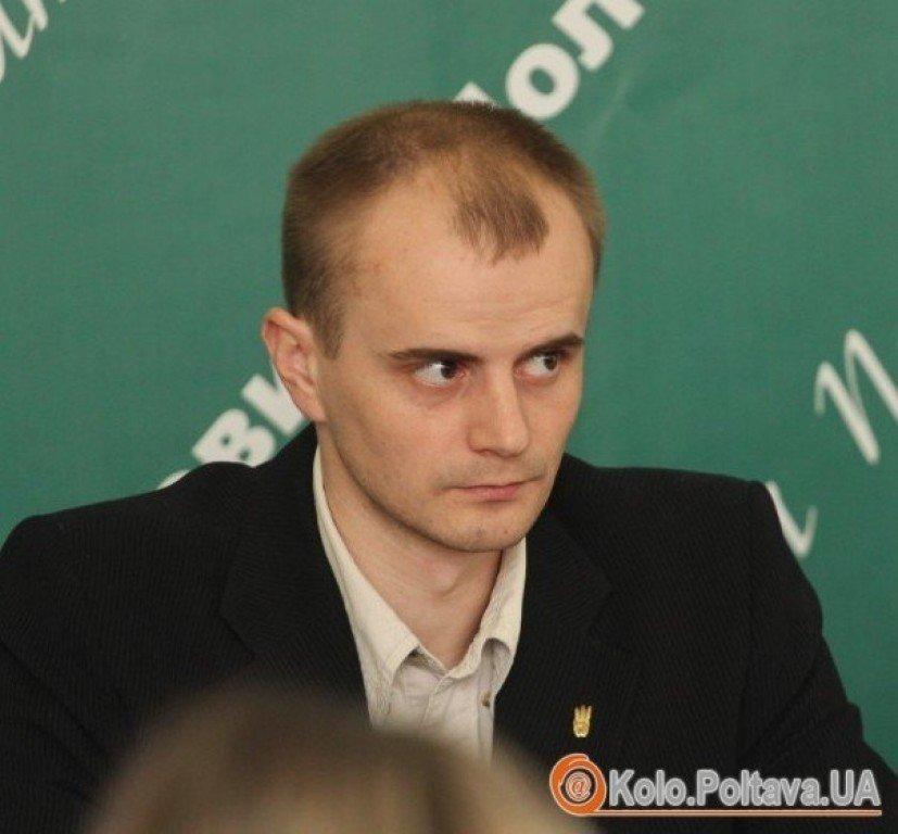 Роман Чабановський склав повноваження голови Шевченківської райради Полтави