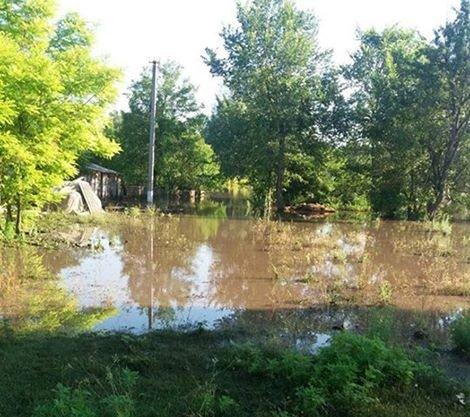 У Чорнухинському та Лубенському районах 14 домогосподарств залишаються затопленими