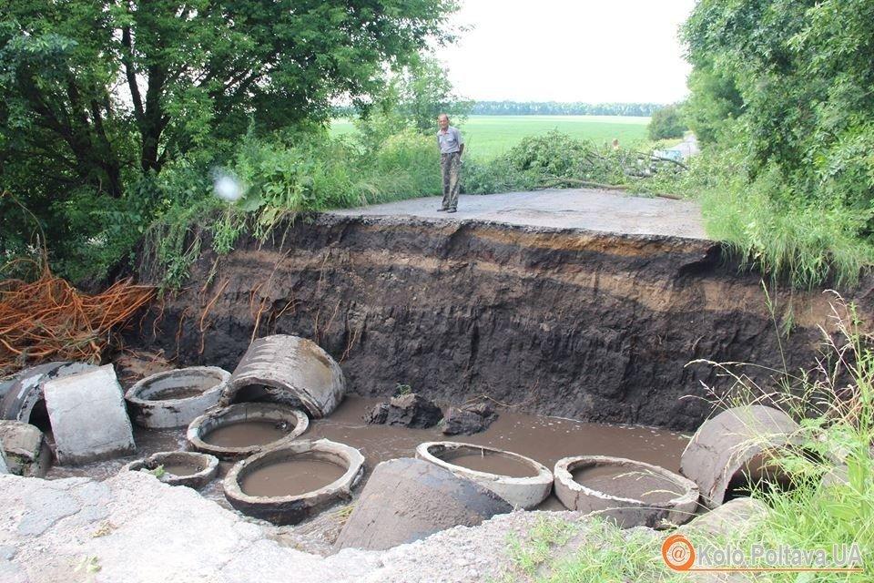Чорнухинський район отримає 10 мільйонів на подолання наслідків стихії